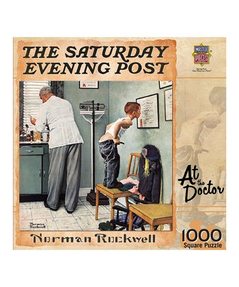 Norman Rockwell At The Doctor Puzzle