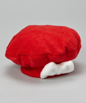 Holiday Fleece Bow Beret