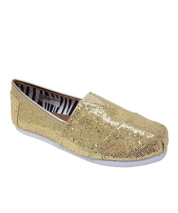 Gold Venus Slip-On Shoe