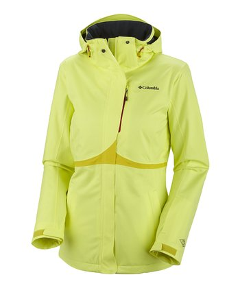 Neon Light Bugaboo Tech Shell Jacket - Women