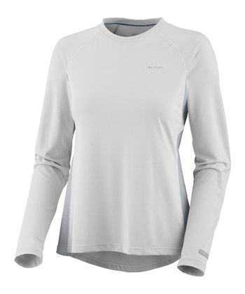 White Base Layer Insect Blocker Long-Sleeve Top - Women