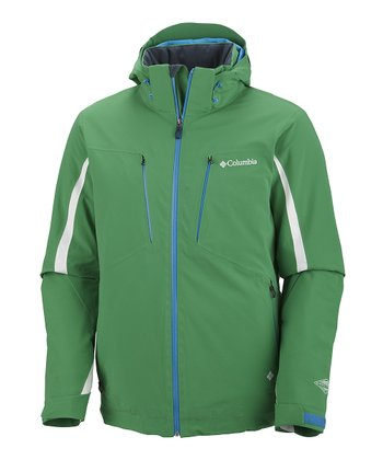 Fuse Green Winter Blur Jacket - Men