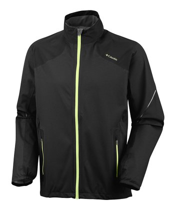 Black Flyin' Dry Zip-Up Shell - Men