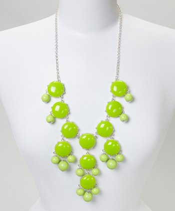 Lime Bubble Necklace