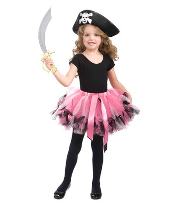 Pink Pirate Dress-Up Set - Girls