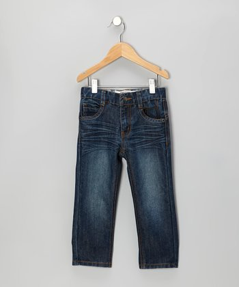 Dark Tint Corbin Straight-Leg Jeans - Toddler