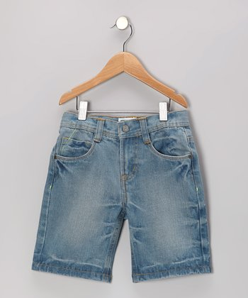Light Wash Jaden Denim Shorts - Boys