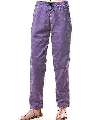 Purple Vintage G Pants