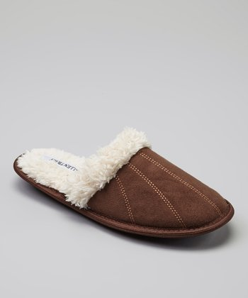 Chocolate Natalie Slipper
