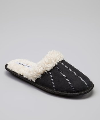 Black Natalie Slipper