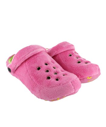 Fucsia Sabotto Slipper - Kids