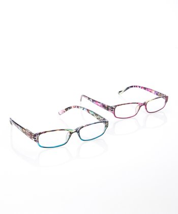 Aqua & Purple Readers Set