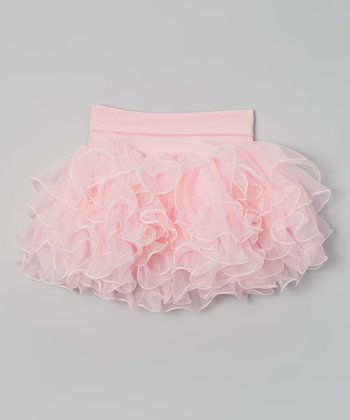 Light Pink Ruffle Skirt - Infant, Toddler & Girls