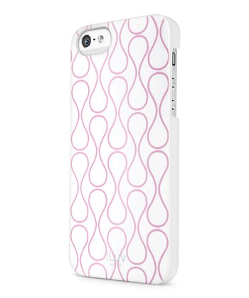 White & Pink Festival Case for iPhone 5