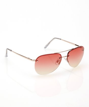 Clear California Dre Pilot Sunglasses