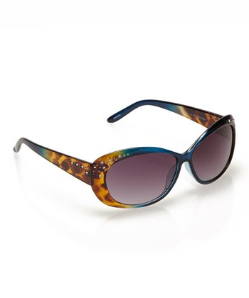 Blue Ombré Bonfire Sunglasses