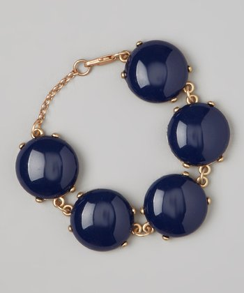 Navy Bubble Bracelet