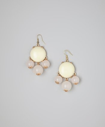 Ivory Bubble Earrings