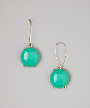 Turquoise Bubble Drop Earrings