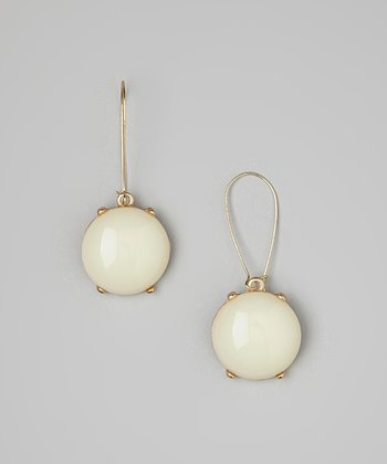 Ivory Bubble Drop Earrings