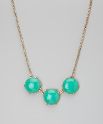 Aqua Stone Necklace