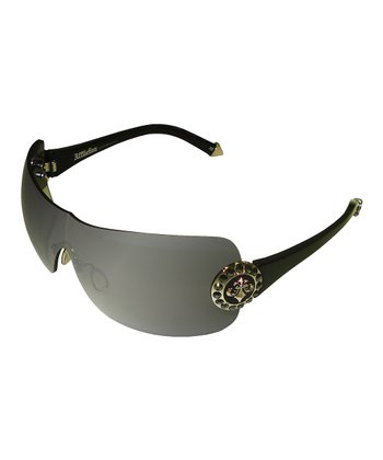 Black & Gunmetal Griffin Sunglasses