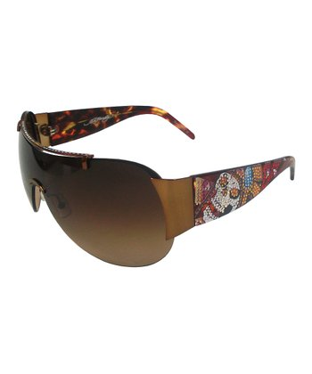 Cocoa & SWAROVSKI ELEMENTS Skull Sunglasses