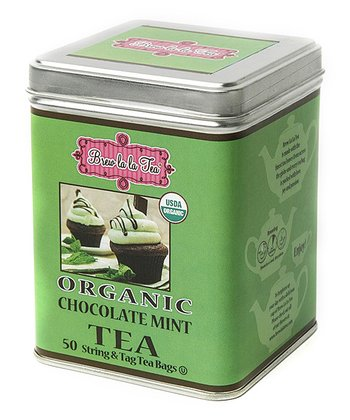 Organic Chocolate Mint Cupcake Tea - Set of 2