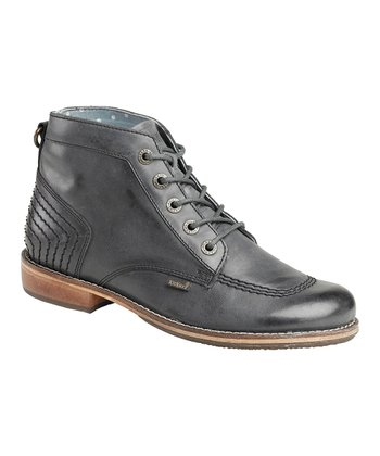 Darkish Gray Rootsland Ankle Boot - Women
