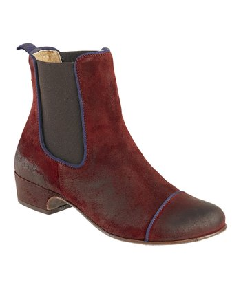 Dark Red Gallagher Boot