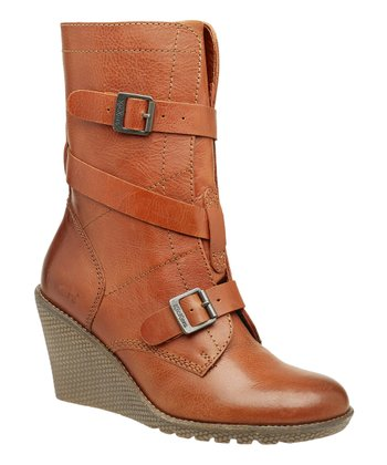 Camel Heroine2 Wedge Boot - Women