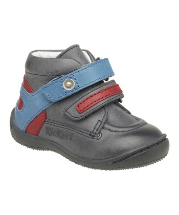 Navy Blue German Bootie - Kids