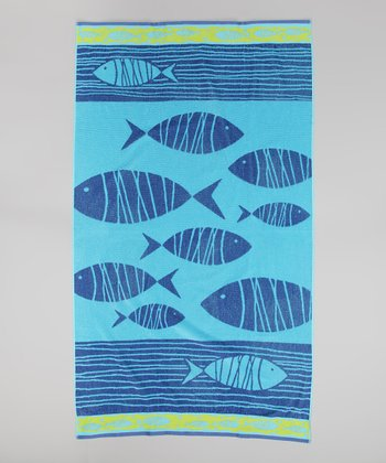 Follow Me Fish Towel