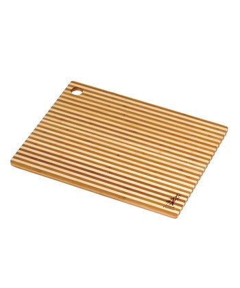 Honey Stripe 14'' Cutting Board