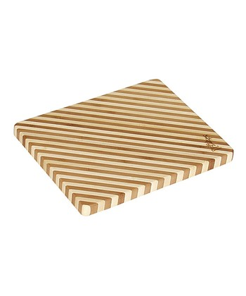 Diagonal Honey Stripe Cutting Board