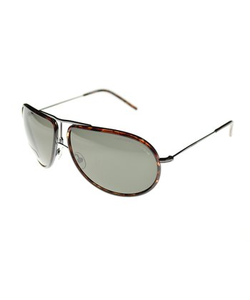 Dark Ruthenium Pilot Sunglasses