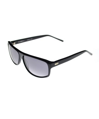 Navy Brow-Crosser Sunglasses