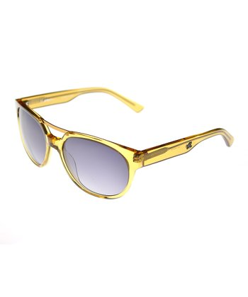 Crystal Yellow Brow Sunglasses