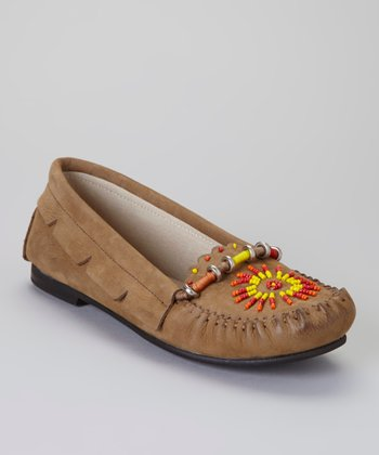 Beige Princess Moccasin