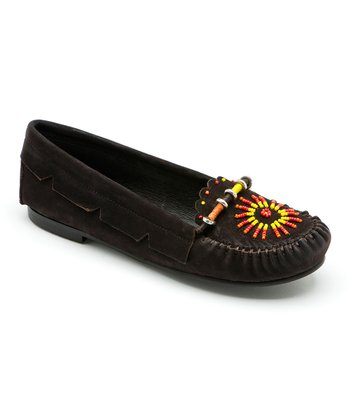Chocolate Princess Moccasin