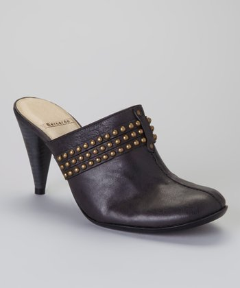 Black Washed Calf Passion Mule