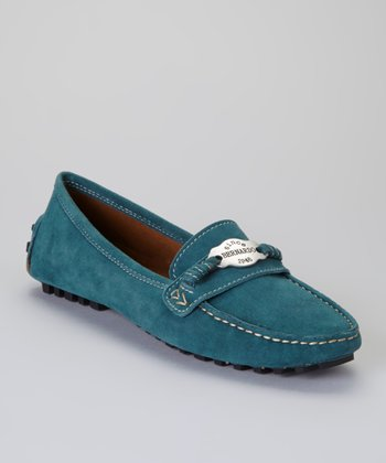 Teal Florence Loafer