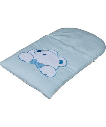 Blue Plushy Paws Infant Nap Mat