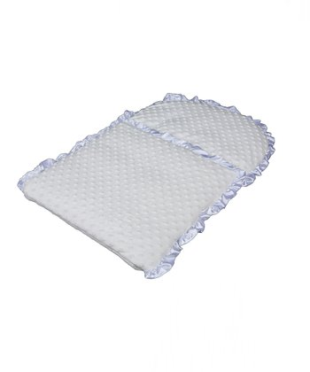 White Whimsical Infant Nap Mat