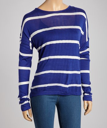 Royal & Ivory Stripe Top