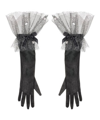 Alchemy Black Gloves