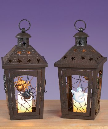 Halloween Lantern - Set of Two