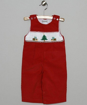 Red Tree Corduroy John Johns - Infant & Toddler