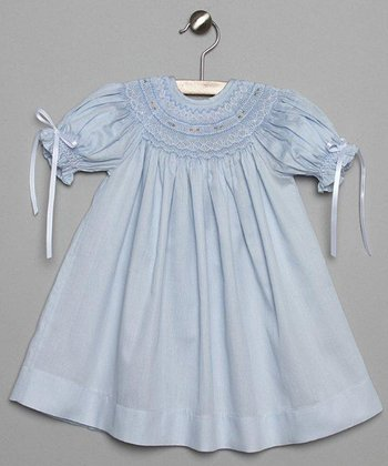 Light Blue Bishop Dress - Infant & Toddler