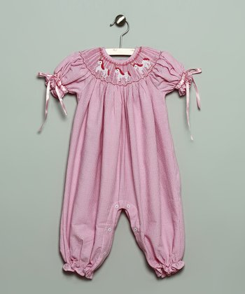 Pink Unicorn Bubble Playsuit - Infant & Toddler